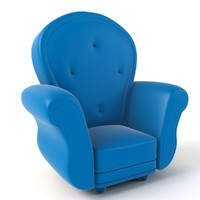 Cartoon Armchair Model 01