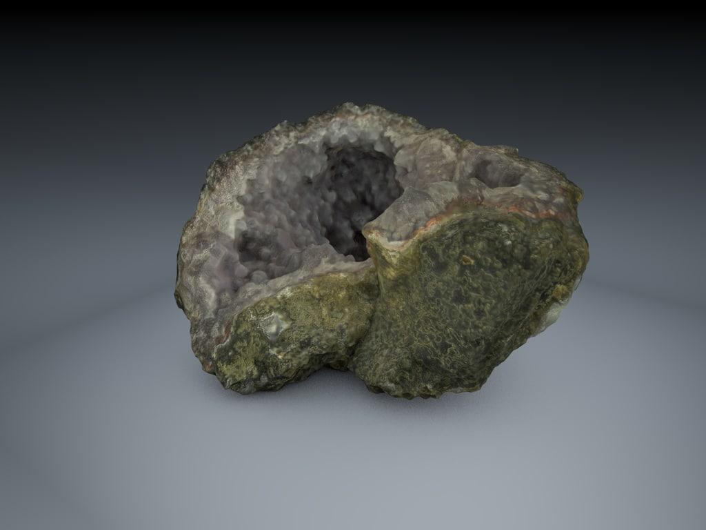 3d 3ds photogrammetry rock