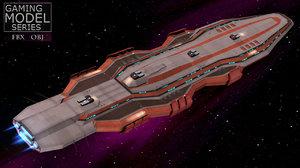 3d battleship battle cruiser