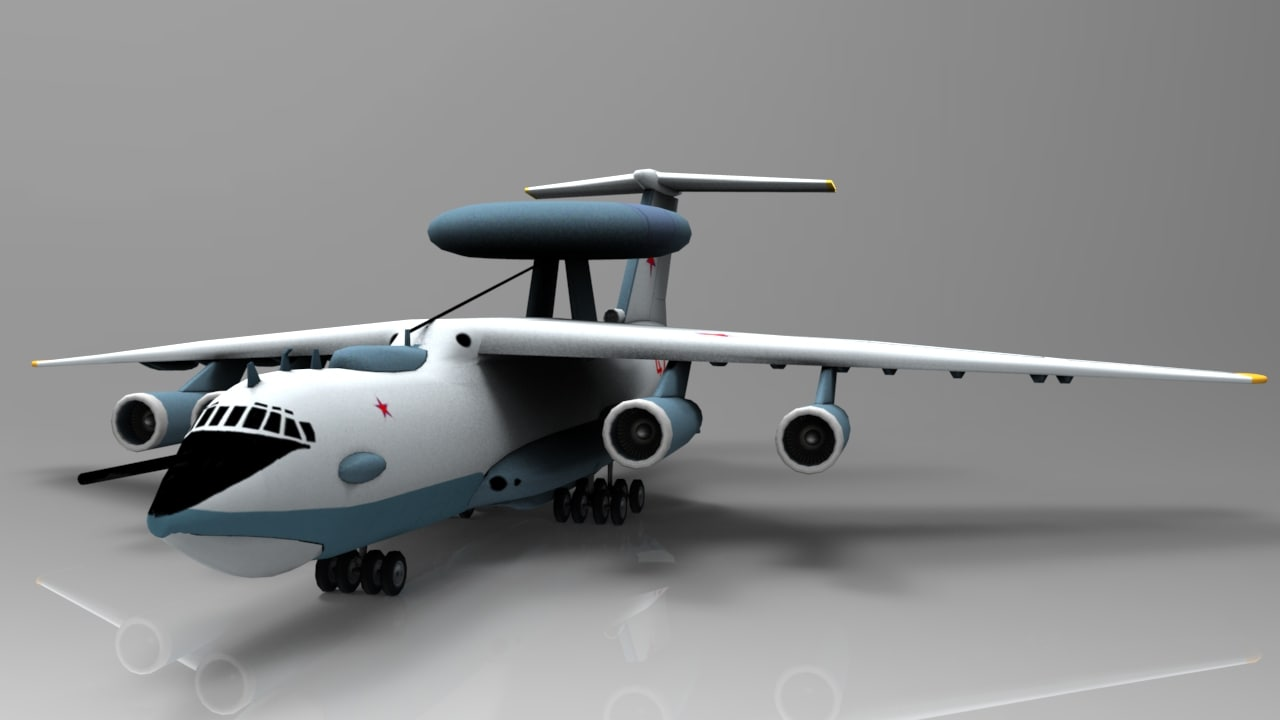 beriev a-50 mainstay transport max