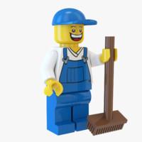 Lego Janitor