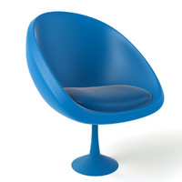 cartoon armchair 3ds