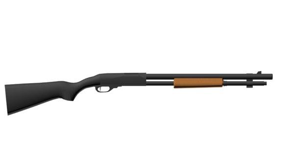 3d model weapon remington 870