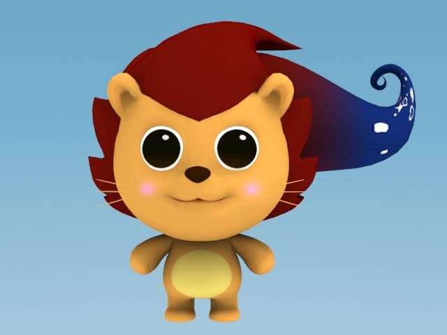 lion cartoon max