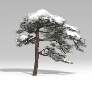 fbx snowtree tree snow