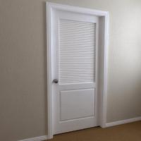 3d interior door - 2-panel