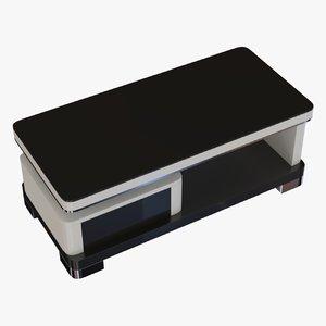 modern coffee table 3d obj