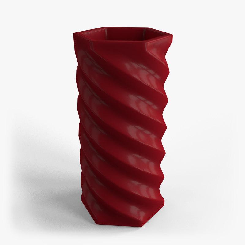 3d 3ds vase 01