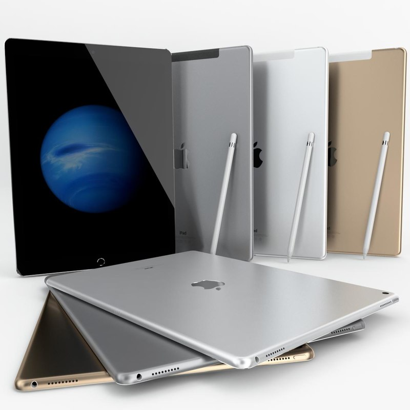 3d apple ipad pro wi-fi