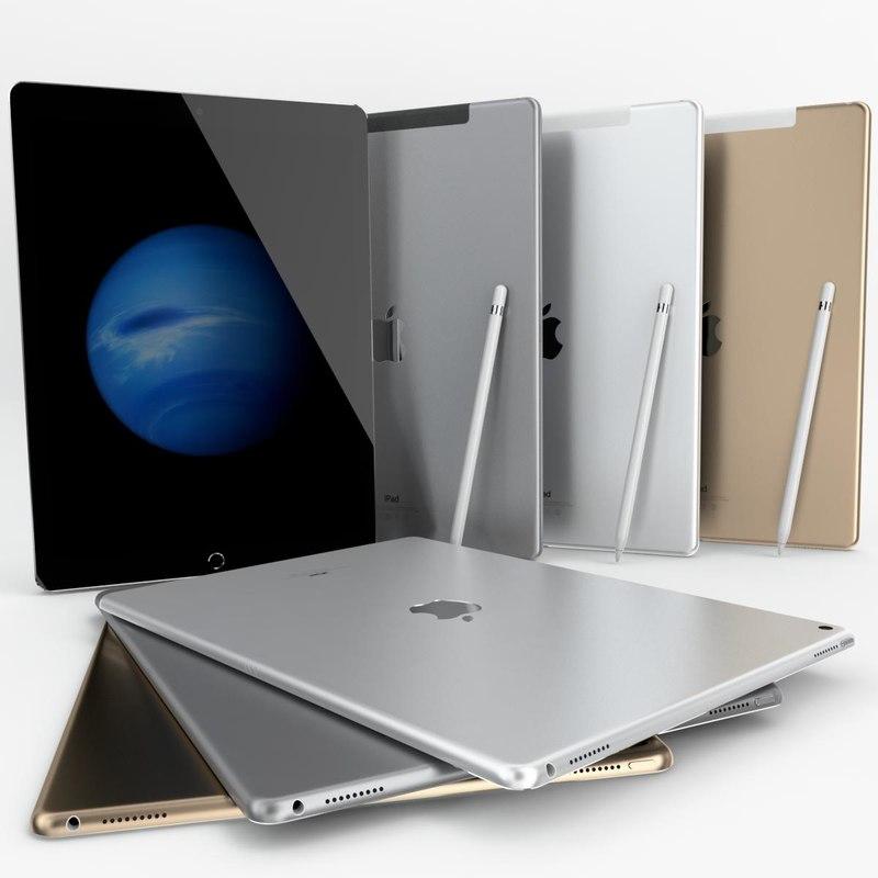 3d apple ipad pro wi-fi