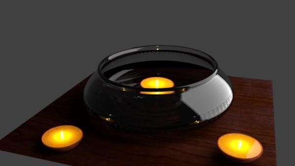 3d model of bowl diya