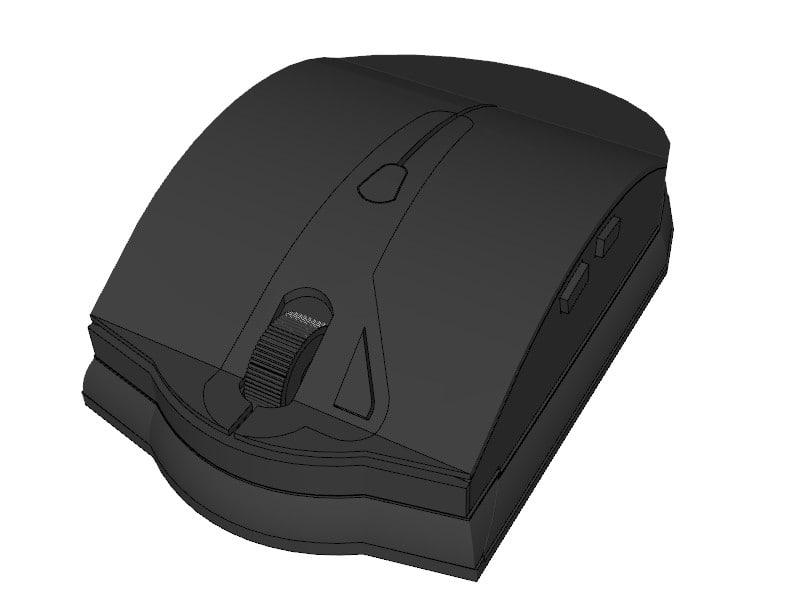 computer mouse 3d 3ds