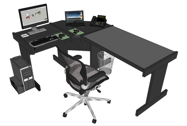 3ds table office
