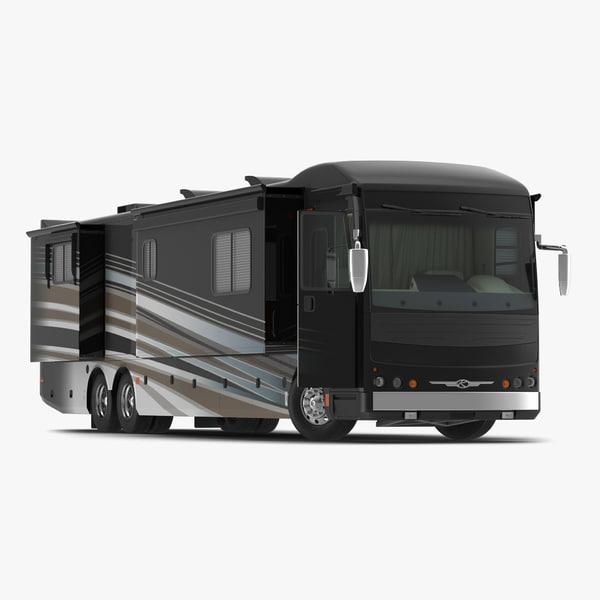 3d model of american recreation vehicle rv