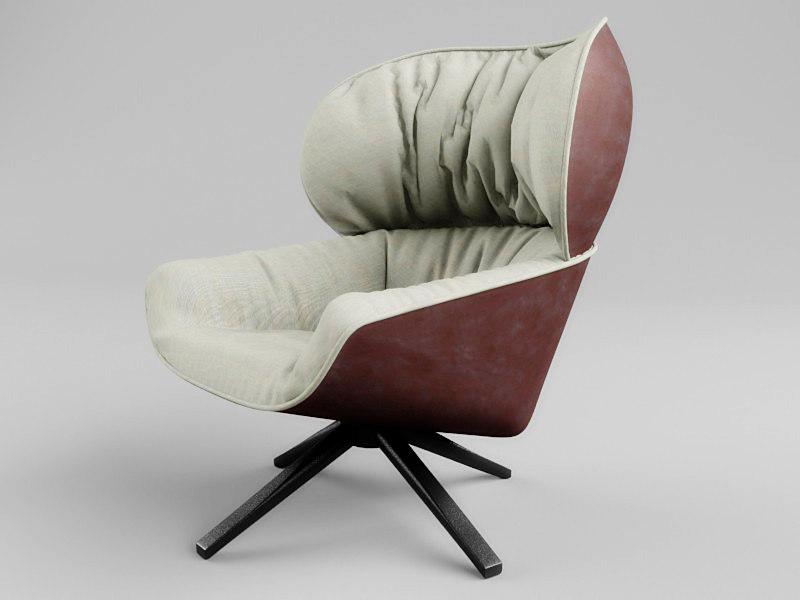 3d Chair Tabano Armchair