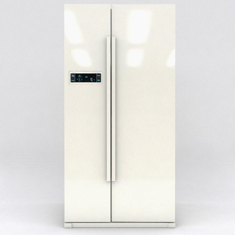 door refrigerator fridge 3d max