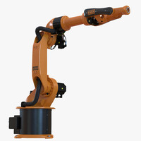 kuka robot kr 16 3d max