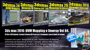 064 3ds max 2016  UVW Mapping e Unwrap Cd Front V 64