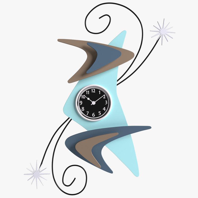 3d wall clock stevo cambronne
