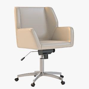 3d model napoli task chair