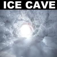 cave landscape desert 3d model