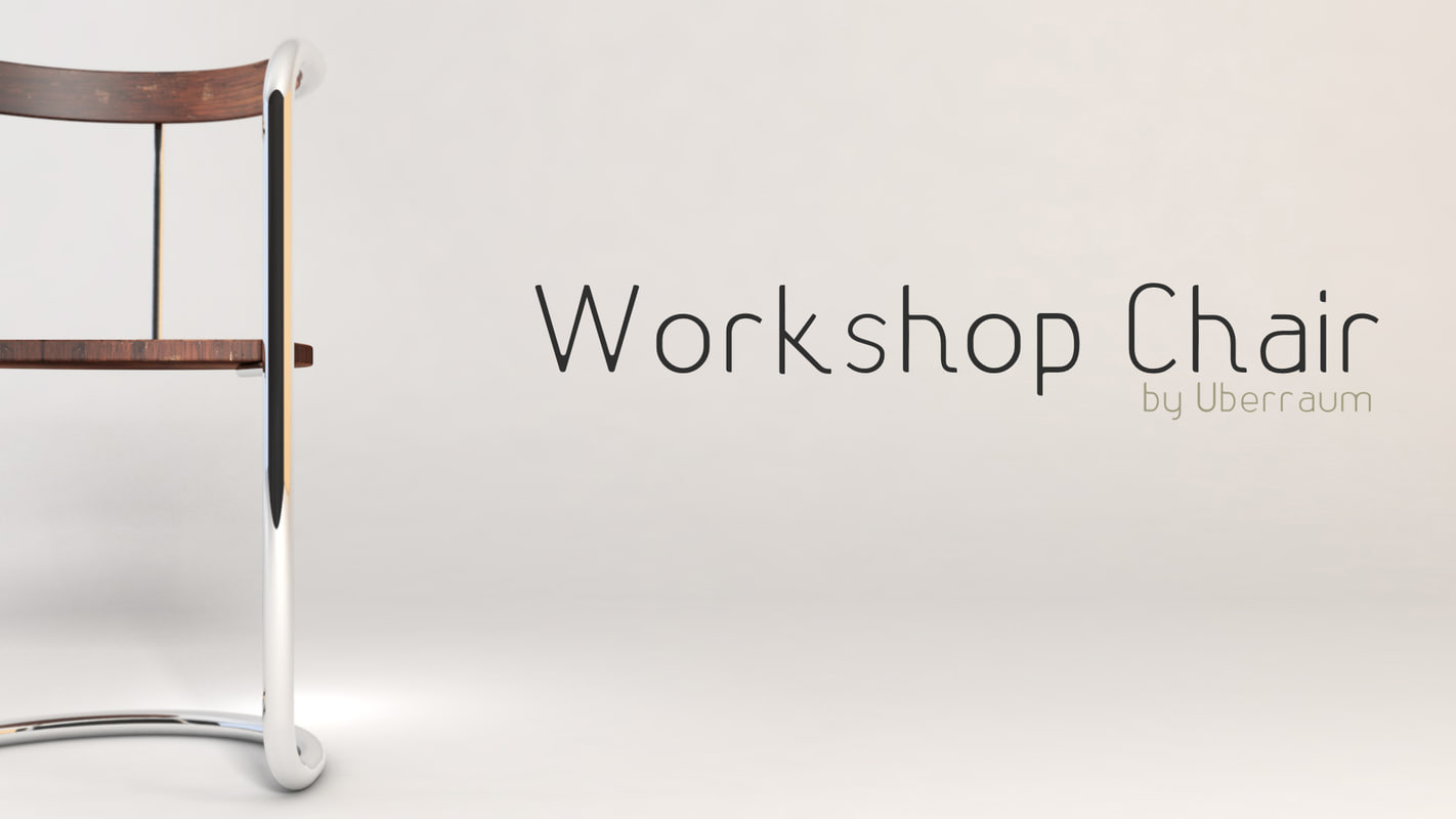 3d model workshop chair