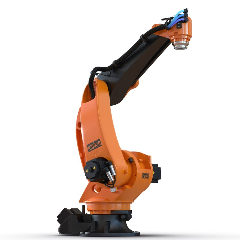 Kuka Robot KR-40 PA Rigged 3D Model