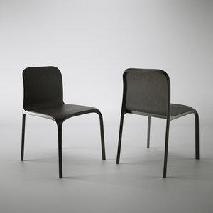 ley chair poliform dwg