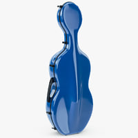 3d model case cello