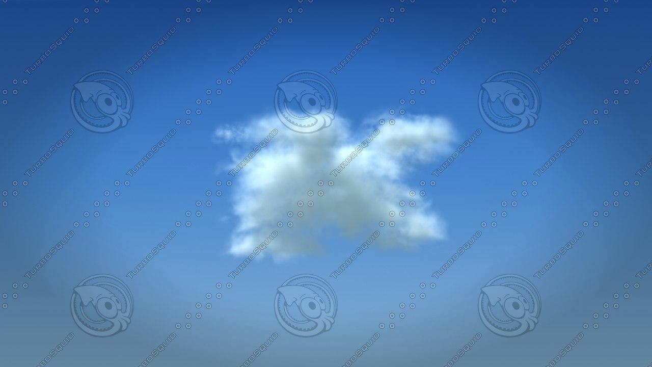 cloud 3d max