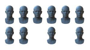 3d based face races