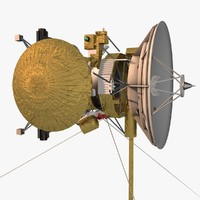 3d cassini-huygens spacecraft huygens