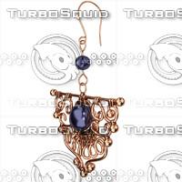 ring earrings obj