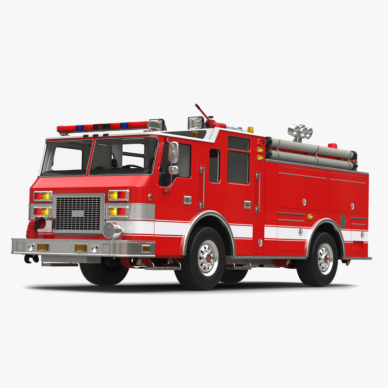 3d truck apparatus 3 model