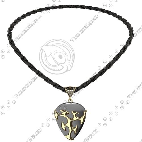 3d model necklace