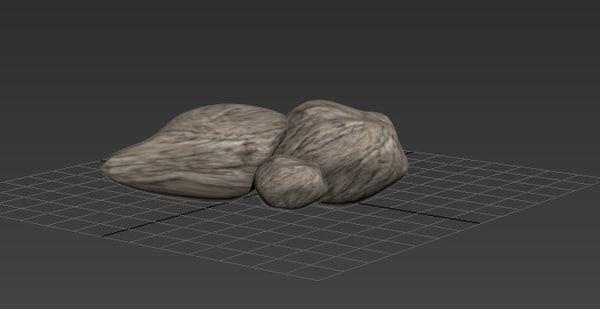 3 rocks max