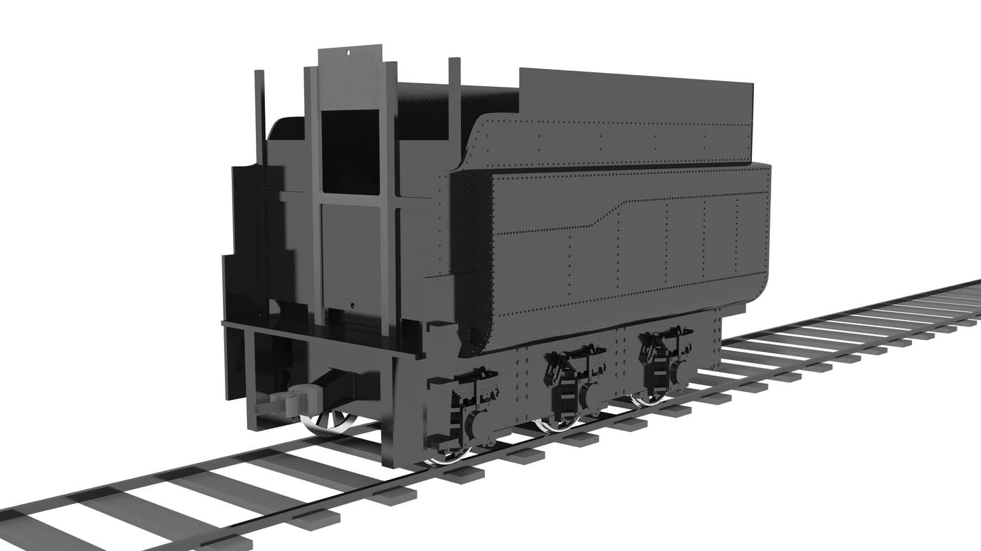 coaltrain train 4-8-2 frisco max