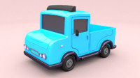 Cartoon Car 4 Truck