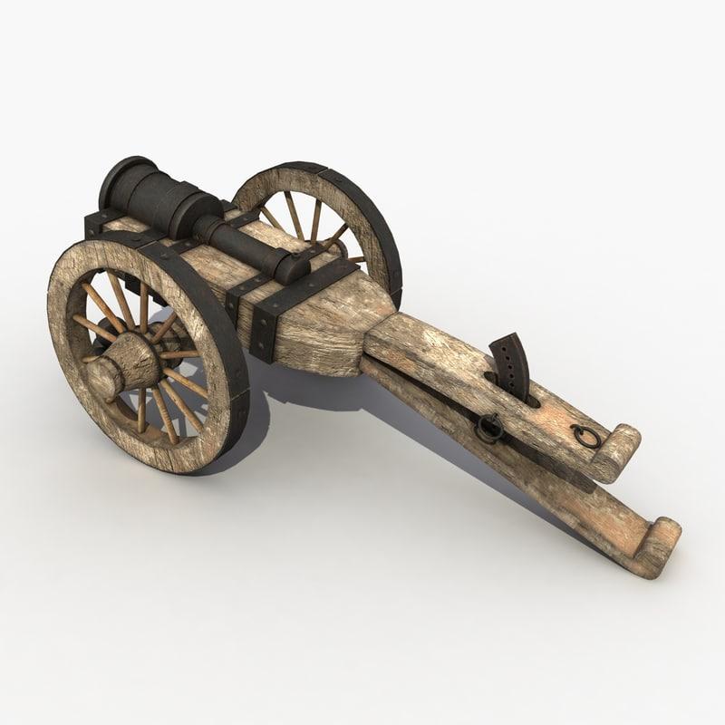 3d model bombard modeled games