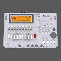 3d model track recorder digital