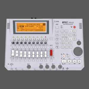 3d model track recorder digital