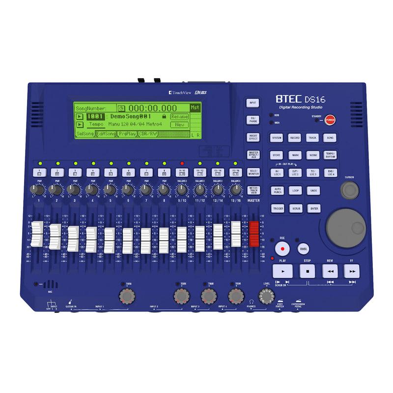 3d track multitrack recorder
