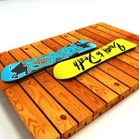 snowboard snow board 3d model