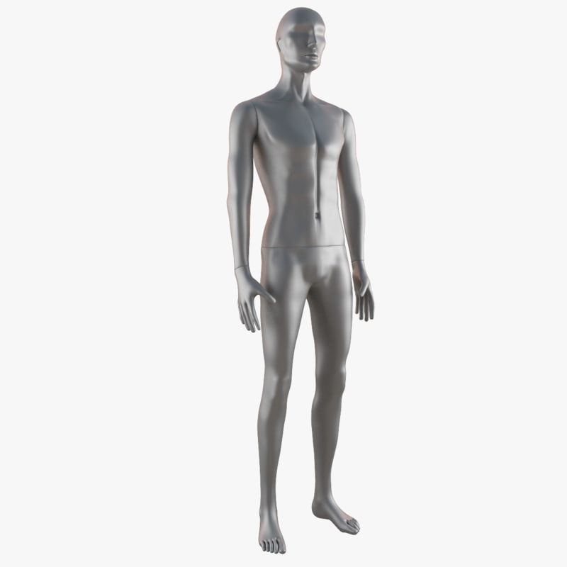 mannequin man 3d max