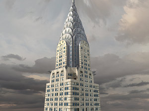 fbx chrysler building