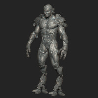 character zbrush 3d model