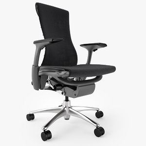 3d model herman miller embody office chair