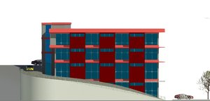revit shopping mall rvt
