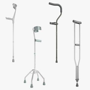 cane crutches max
