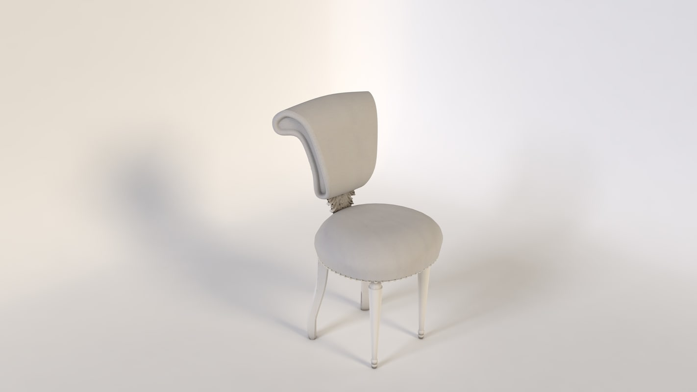 3d chair antique agrentina